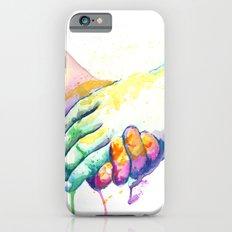 Holding Hands iPhone 6 Slim Case