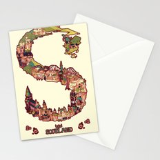 S is for Scotland Stationery Cards