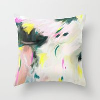 Abstract Love 3 Throw Pillow