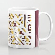 Aztec Pattern Papercut Mug