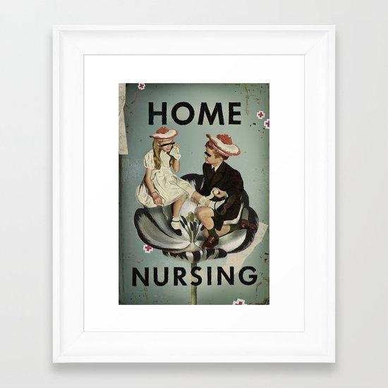 Home Nursing Framed Art Print