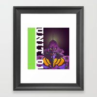 EVA-01 Framed Art Print