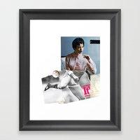 Football Fashion #2 Framed Art Print