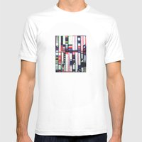 SKYLINE Mens Fitted Tee White SMALL