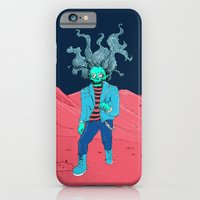 iPhone & iPod Case featuring SpaceZomb by Morbid Illusion