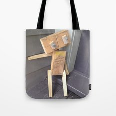 Please look after this robot Tote Bag