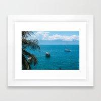 Boats Framed Art Print