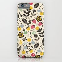 iPhone Cases featuring Very Berry by Poppy & Red