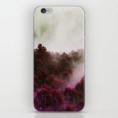 Foggy Violet iPhone & iPod Skin