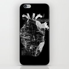 Heart Wanderlust iPhone & iPod Skin