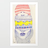 Double-headed Art Print