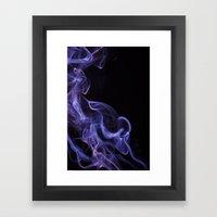 Veil Of Smoke Framed Art Print