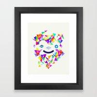 Chromatic character  Framed Art Print