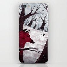 Chasing the black rabbits iPhone & iPod Skin