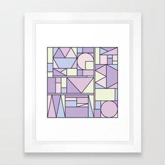 Kaku Pastel Framed Art Print