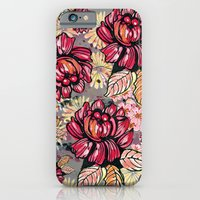 Roses and cherry blossom pattern iPhone 6 Slim Case