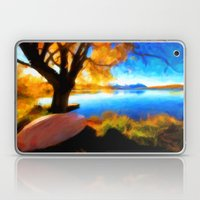 Peaceful Lake - Painting Style Laptop & iPad Skin
