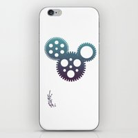 Mickey Mouse Mechanisms iPhone & iPod Skin