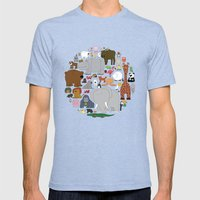 The Animal Kingdom Mens Fitted Tee Tri-Blue SMALL
