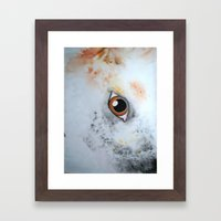 She Likes Dirt Framed Art Print