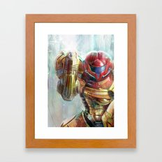 At Last The Galaxy Is At… Framed Art Print