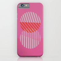 iPhone & iPod Case featuring Two Circles by Jasmine Sierra