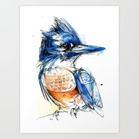 Belted And Brazen Art Print