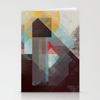 mountains Stationery Cards featuring Over mountains by Efi Tolia