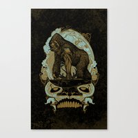 Ape Grits Canvas Print