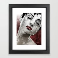 Venom and Tears Framed Art Print