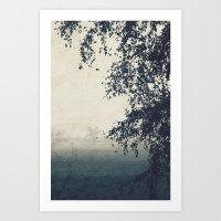 A Lovely Gloom Art Print