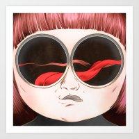 Tongues Dream Art Print