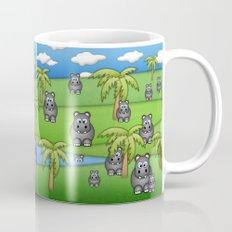 Hippos. Mug