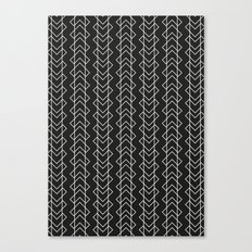 Black White Canvas Print