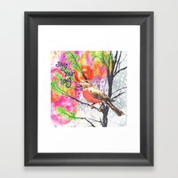 Sing Your Song Framed Art Print
