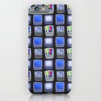 TV Pattern iPhone 6 Slim Case