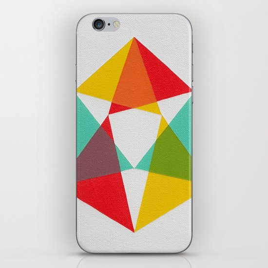Triangles iPhone & iPod Skin