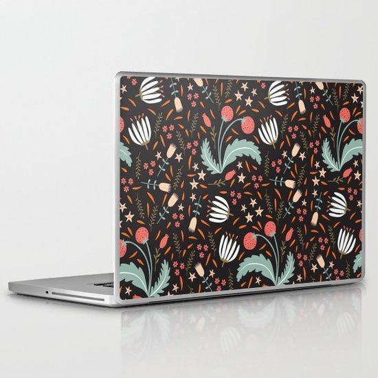 Floral Fusion Laptop & iPad Skin