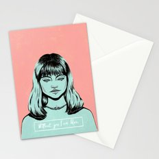 Without you I am Blue. Stationery Cards