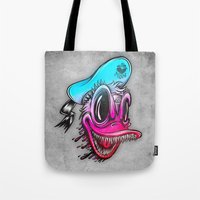 Demon Duck Tote Bag