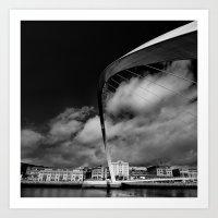 Gateshead Millenium Brid… Art Print