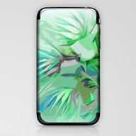 Palm Trees Abstract iPhone & iPod Skin