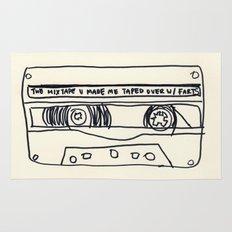 cassette schmassette Rug