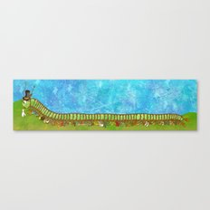Caterpillar Shoe Fetish Canvas Print