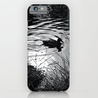 iPhone & iPod Case featuring Lonely Duck by klark