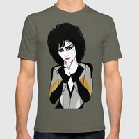 Siouxsie Sioux Mens Fitted Tee Lieutenant SMALL