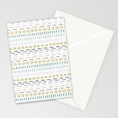Line Dot Line Triangle Stationery Cards