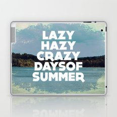 Lazy Days  Laptop & iPad Skin