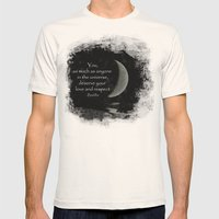 You, As Much As Anyone..… Mens Fitted Tee Natural SMALL