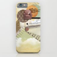 Rue De La Persévérance iPhone 6 Slim Case